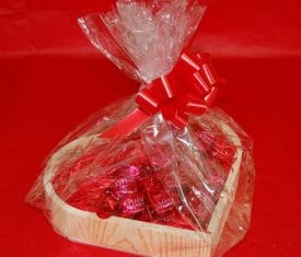 Mothers Day Gift Box Heart Hamper Wrapping Choice of Fillings