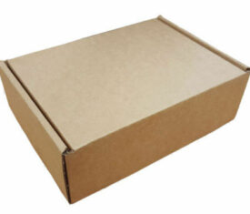Small Parcel PIP Die Cut Cardboard Postal Mailing Boxes 160mm x 120mm x 55mm