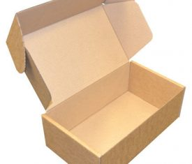 Small Parcel PIP Die Cut Cardboard Postal Mailing Boxes 330mm x 195mm x 115mm