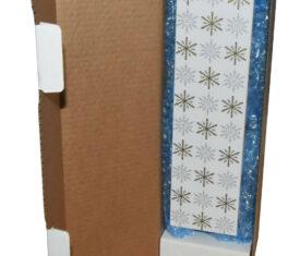 Snowflake Gift Wrap Postal Box for Wine Bottles Christmas includes Bubble Wrap 143172671894 275x235 - Snowflake Gift Wrap Postal Box for Wine Bottles Christmas includes Bubble Wrap