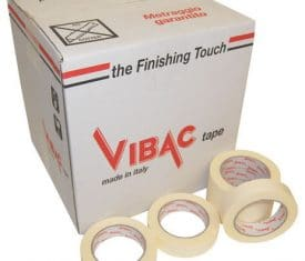 Vibac Masking Tape Painting Decorating DIY Packaging Tape 50m 25mm Qty 36