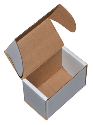 White Smashproof Cardboard Postal Boxes for Mugs 140mm x 85mm x 100mm 132985839854 - White Smashproof Cardboard Postal Boxes for Mugs 140mm x 85mm x 100mm