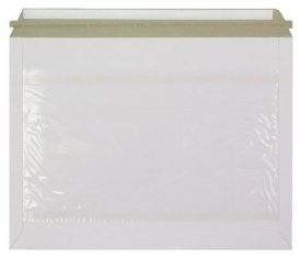 266mm x 353mm White Card Rigid Courier Envelopes with Document Wallet Qty 200 132912329355 275x235 - 266mm x 353mm White Card Rigid Courier Envelopes with Document Wallet Qty 200