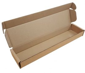 420mm x 95mm x 40mm Brown Small Parcel Cardboard Mailing Postal Boxes