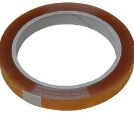 6 Rolls 12mm x 66m Clear Sellotape Cellotape Sticky Back Plastic Adhesive Tape