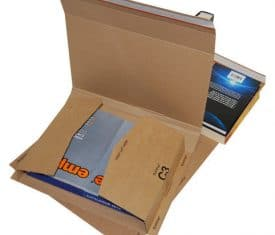 C3 Bukwrap Book Wrap Cardboard Mailer Postal Post Box 311 x 240 x 50mm