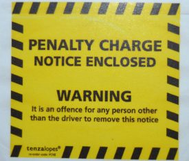 Penalty Charge Notice Envelopes Parking Civil Enforcement Stickers Qty 1000