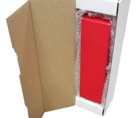 Red Wine Champagne Bottle Gift Present Postal Shipping Mailing Boxes Qty 10