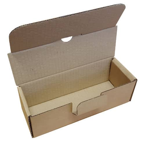 Small Parcel Brown Die Cut Postal Box Shipping Boxes for 500ml 1000ml 1L Bottles 163283365885 - Small Parcel Brown Die Cut Postal Box Shipping Boxes for 500ml 1000ml 1L Bottles