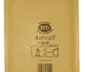 100 Small Gold Jiffy Bubble Lined Bags Envelopes JL0 140mm x 195mm