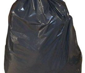 "18"" x 29"" x 39"" 140 Gauge Black Rubbish Bin Bags Refuse Sacks Box of 200"