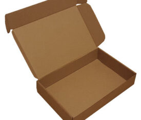 222mm x 155mm x 45mm Small Parcel PIP Die Cut Cardboard Postal Mailing Boxes