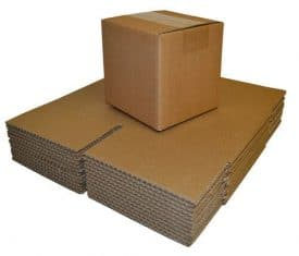 """254 x 254 x 254mm 10x10x10"""" Double Wall Brown Cardboard Postal Mailing Box Boxes"""