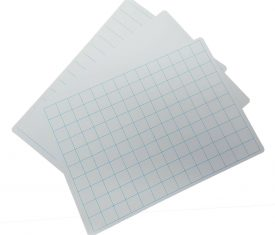 297mm x 210mm A4 Flexible Plastic Dry Wipe White Boards 3 Styles Pack of 100 143524802716 275x235 - 297mm x 210mm A4 Flexible Plastic Dry Wipe White Boards 3 Styles Pack of 100