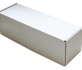 340mm x 110mm x 110mm White Small Parcel Die Cut Postal Mailing Shipping Boxes