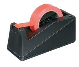 B2 Economy Bench Desktop Worktop Tape Dispenser for 25mm Tapes with 75mm Cores