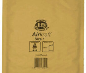 Box of 100 Gold Jiffy Airkraft Bubble Envelopes Size 1 170mm x 245mm 133045987306 275x235 - Box of 100 Gold Jiffy Airkraft Bubble Envelopes Size 1 170mm x 245mm