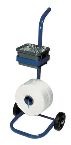 CSM20 Mobile Pallet Strapping Banding Dispenser for Composite Woven Cord Strap
