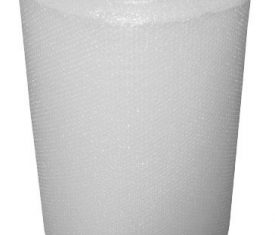 Plain Clear Bubble Wrap Roll 750mm x 100m Small Bubbles Strong