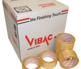 Vibac Solvent Clear Vinyl Parcel Packing Packaging Tape 66m 48mm Qty 36 131743278276 275x235 - Vibac Solvent Clear Vinyl Parcel Packing Packaging Tape 66m 48mm Qty 36