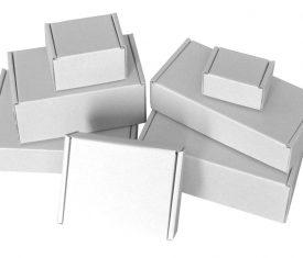 White Die Cut Folding Lid Postal Cardboard Boxes Small Mailing Shipping Cartons 131705290116 275x235 - White Die Cut Folding Lid Postal Cardboard Boxes Small Mailing Shipping Cartons