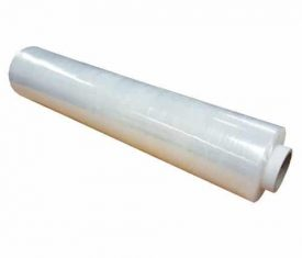 12 Rolls 500mm 300m 20mu Clear CAST Hand Pallet Stretch Wrap FREE Dispenser 142928073467 275x235 - 12 Rolls 500mm 300m 20mu Clear CAST Hand Pallet Stretch Wrap FREE Dispenser