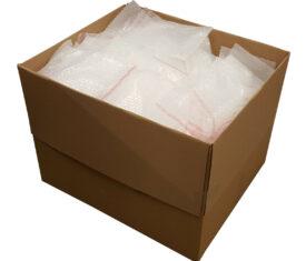 130mm x 180mm BP02 Jiffy Plain Bubble Bags Peel and Seal Strip Qty 500