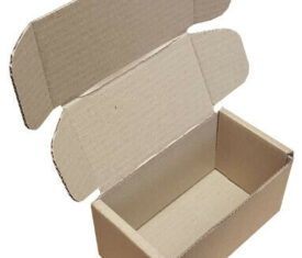 152mm x 85mm x 85mm Small Parcel PIP Die Cut Cardboard Postal Mailing Boxes
