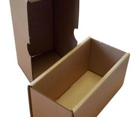 185mm x 80mm x 90mm Brown Small Parcel Two Part Cardboard Postal Boxes