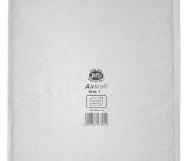 340mm x 445mm JL7 Jiffy Lite Airkraft Bags Padded Envelopes White x 50