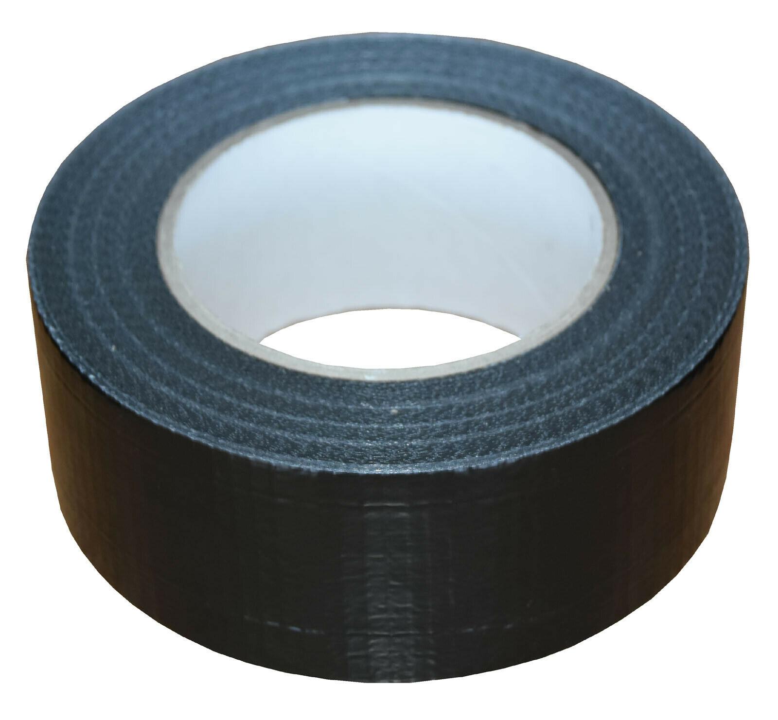 38mm x 50m Black Gaffer Tape Waterproof Duct Tape Qty 36 Rolls 143254402027 - 38mm x 50m Black Gaffer Tape Waterproof Duct Tape Qty 36 Rolls