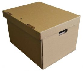450mm x 370mm x 300mm A3 Strong Large Double Wall Archive Storage Boxes