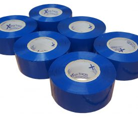 48mm x 150m Extra Long Blue Adhesive Parcel Tape Qty 6 Rolls
