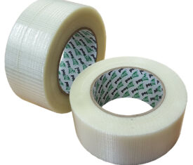 50mm x 50m Reinforced Crossweave Adhesive Super Heavy Duty Packing Tape 143446444837 275x235 - 50mm x 50m Reinforced Crossweave Adhesive Super Heavy Duty Packing Tape