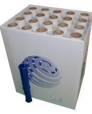 60-Rolls-100mm-x-150m-x-15mu-Clear-Mini-Hand-Pallet-Stretch-Wrap-Free-Dispenser-141826609267