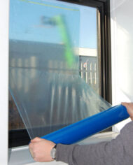 600mm-x-25m-Self-Adhesive-Blue-Glass-Window-Protector-Film-Roll-UV-Protection-143293307037