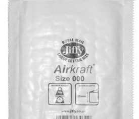 90mm x 145mm JL000 Jiffy Lite Airkraft Bags White x 150 131547294517 275x235 - 90mm x 145mm JL000 Jiffy Lite Airkraft Bags White x 150