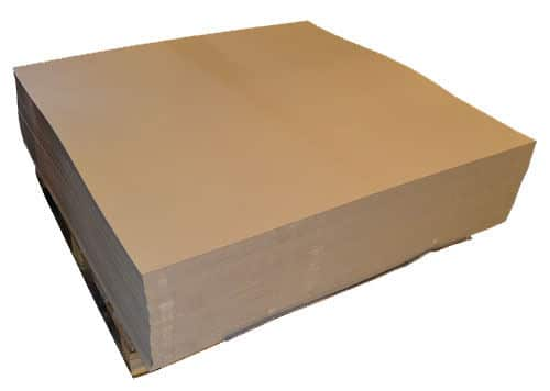 A4 Rigid Single Wall Corrugated Cardboard Sheets Art Craft Board