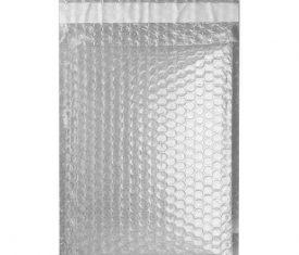 Box Quantity Various Sizes TRANSLUCENT Gloss Metallic Bubble Bag Envelopes