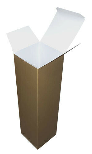 Gold Christmas Champagne or Wine Bottle Presentation Gift Boxes