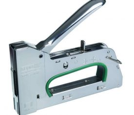 R34 Rapid Hand Tacker Suitable For Plastic Film, Insulation, Wood & Carpets