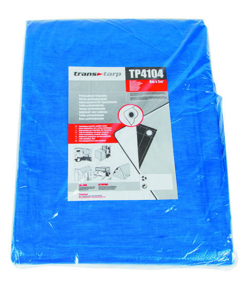 Various Size Heavy Duty Tarpaulin Blue Waterproof Strong Cover Ground Sheet Tarp