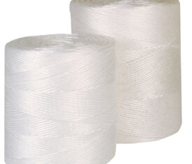 White Weather Resistant Polypropylene Twine String 1 Roll of 1575m