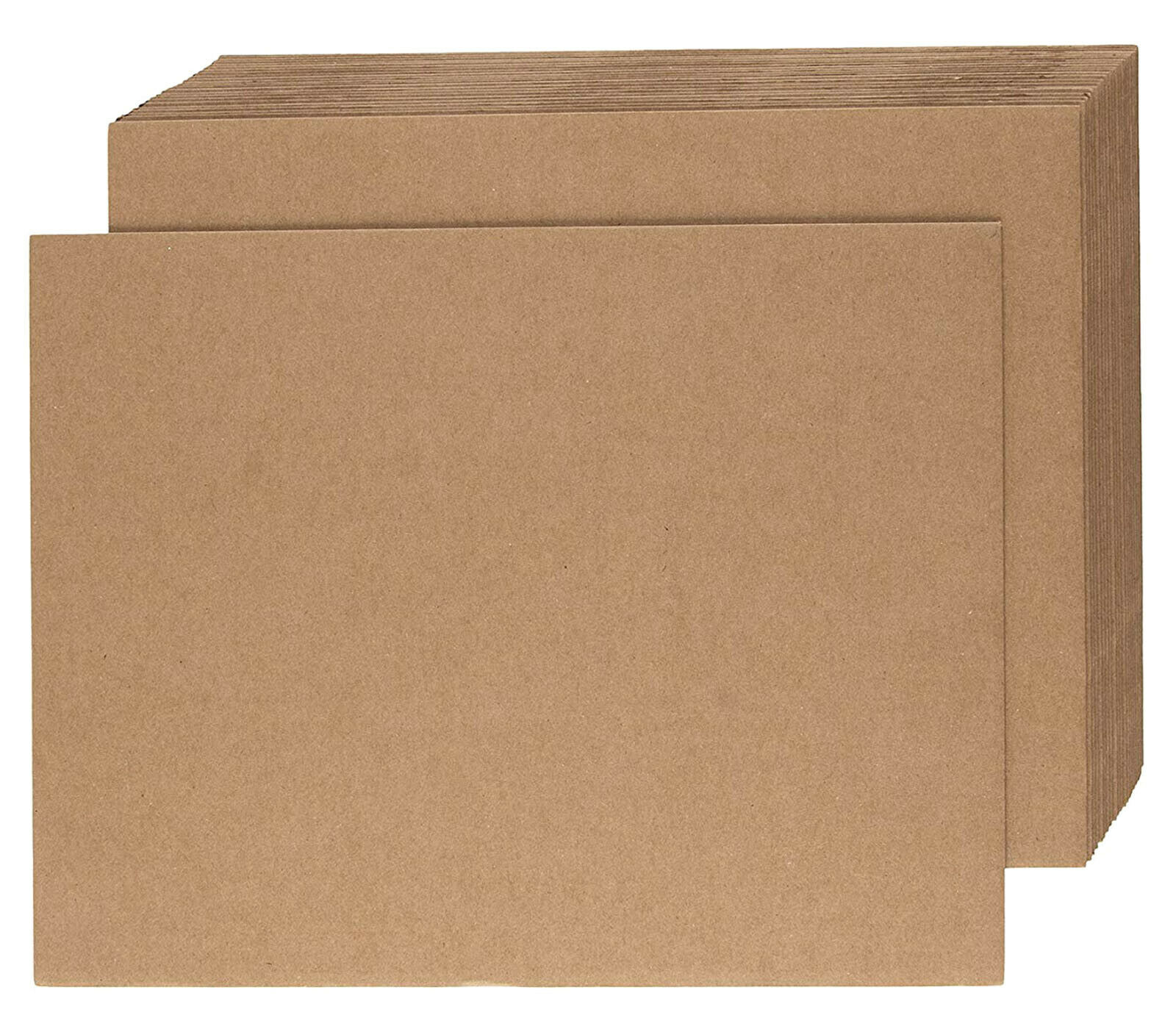 1000mm x 1200mm Cardboard Corrugated Sheets Board Pallet Layer Pads Qty 25