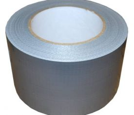 "3"" 75mm x 50m Extra Wide Silver Gaffer Waterproof Duct Duck Cloth Adhesive Tape"