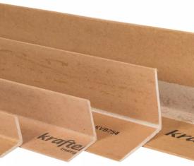 35mm x 35mm Width Kraftek Cardboard Edge Board Protectors Corners Packs of 50
