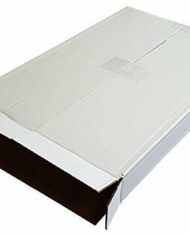 A2-A3-A4-Single-Wall-White-Cardboard-Corrugated-Postal-Boxes-5-Panel-Wrap-Mailer-162406499018