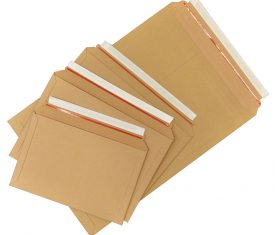 A3 A4 A5 Large Letter Cardboard Book Envelopes Strong Rigid Expanding