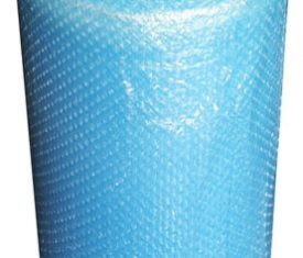 Blue Bubble Wrap Roll 1000mm x 100m Small Bubbles Strong Colourful