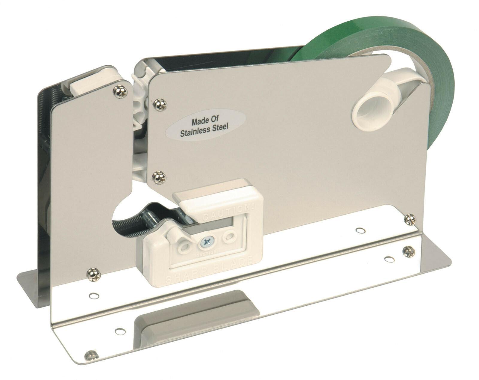 PD223T Stainless Steel Bench Tape Dispenser Bag Neck Sealer for 9mm 12mm Tapes 163719536708 - PD223T Stainless Steel Bench Tape Dispenser Bag Neck Sealer for 9mm 12mm Tapes